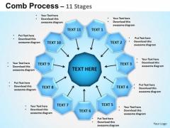 PowerPoint Backgrounds Circular Flow Diagram Ppt Slide