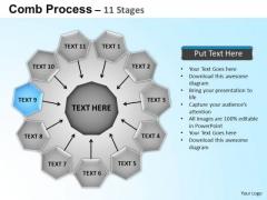 PowerPoint Backgrounds Circular Flow Diagram Ppt Templates