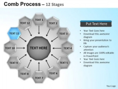 PowerPoint Backgrounds Circular Flow Diagram Ppt Themes