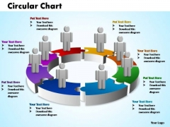 PowerPoint Backgrounds Company Circular Ppt Design Slides