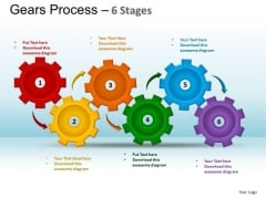 PowerPoint Backgrounds Company Gears Process Ppt Themes