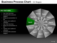 PowerPoint Backgrounds Company Pie Chart Ppt Design