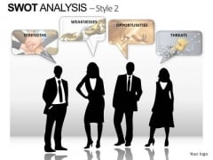 PowerPoint Backgrounds Company Swot Analysis Ppt Designs