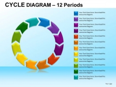 PowerPoint Backgrounds Corporate Strategy Cycle Diagram Ppt Slide Designs