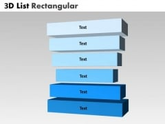 PowerPoint Backgrounds Diagram Bulleted List Rectangular Ppt Layouts