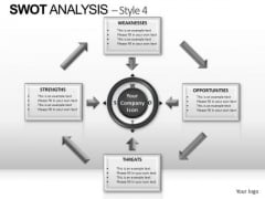 PowerPoint Backgrounds Diagram Swot Analysis Ppt Slidelayout