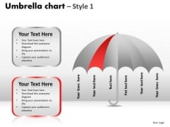 PowerPoint Backgrounds Diagram Umbrella Chart Ppt Layout