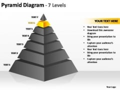 PowerPoint Backgrounds Download Cone Diagram Ppt Design