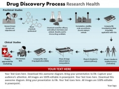 PowerPoint Backgrounds Download Drug Discovery Ppt Process