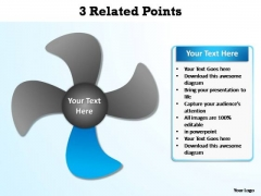 PowerPoint Backgrounds Download Related Points Ppt Presentation Designs