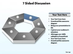 PowerPoint Backgrounds Download Sided Discussion Ppt Theme
