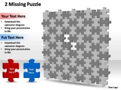 PowerPoint Backgrounds Editable 9x9 Missing Puzzle Piece Template Ppt Themes