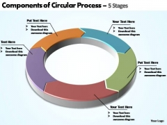 PowerPoint Backgrounds Editable Components Of Circular Ppt Design