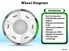 PowerPoint Backgrounds Education Wheel Diagram Ppt Templates
