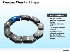 PowerPoint Backgrounds Global Process Chart Ppt Template