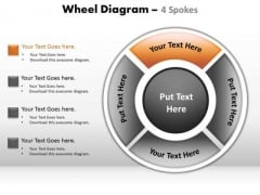 PowerPoint Backgrounds Global Wheel Diagram Ppt Design