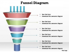 PowerPoint Backgrounds Graphic Funnel Diagram Ppt Theme