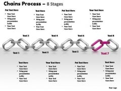 PowerPoint Backgrounds Growth Chains Ppt Backgrounds