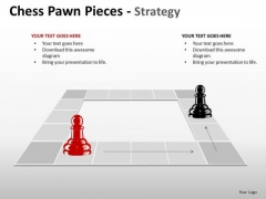 PowerPoint Backgrounds Growth Chess Pawn Ppt Theme