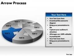 PowerPoint Backgrounds Growth Circular Arrow Ppt Design