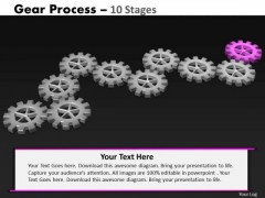 PowerPoint Backgrounds Growth Gears Process Ppt Designs