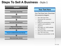 PowerPoint Backgrounds Growth Steps To Sell Ppt Design Slides