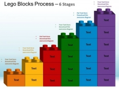 PowerPoint Backgrounds Image Lego Blocks Ppt Backgrounds