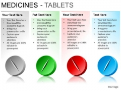 PowerPoint Backgrounds Image Medicine Tablets Ppt Template