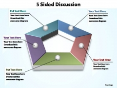 PowerPoint Backgrounds Image Sided Discussion Ppt Slide