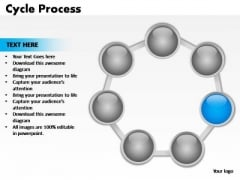 PowerPoint Backgrounds Leadership Cycle Process Ppt Theme