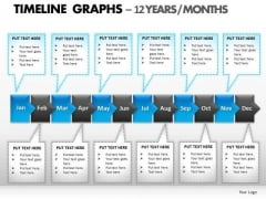 PowerPoint Backgrounds Leadership Timeline Graphs Ppt Designs