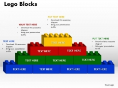 PowerPoint Backgrounds Lego Blocks Education Ppt Design
