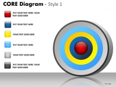 PowerPoint Backgrounds Marketing Core Diagram Ppt Designs