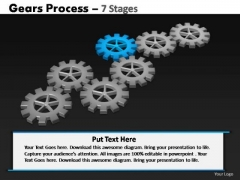 PowerPoint Backgrounds Marketing Gears Process Ppt Design