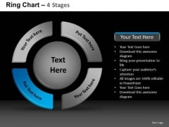PowerPoint Backgrounds Marketing Ring Chart Ppt Slide Designs