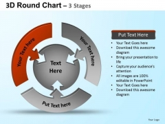 PowerPoint Backgrounds Marketing Round Process Flow Chart Ppt Presentation