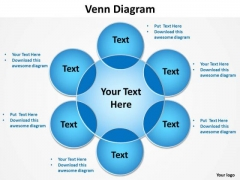 PowerPoint Backgrounds Marketing Venn Diagram Ppt Slide