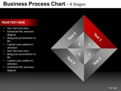 PowerPoint Backgrounds Process Quadrant Chart Ppt Themes