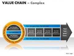 PowerPoint Backgrounds Process Value Chain Ppt Presentation