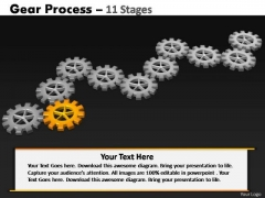 PowerPoint Backgrounds Sales Gears Process Ppt Template
