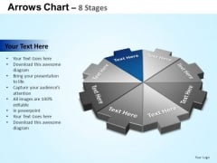 PowerPoint Backgrounds Strategy Arrows Chart Ppt Template