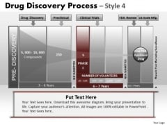 PowerPoint Backgrounds Strategy Drug Discovery Ppt Layout