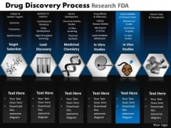 PowerPoint Backgrounds Strategy Drug Discovery Ppt Slide