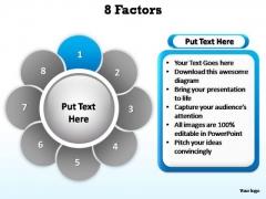 PowerPoint Backgrounds Strategy Factors Ppt Slides