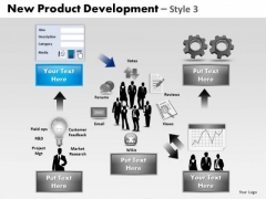 PowerPoint Backgrounds Strategy Product Development Ppt Slidelayout