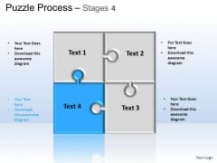PowerPoint Backgrounds Strategy Puzzle Ppt Slides