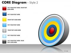 PowerPoint Backgrounds Success Core Diagram Ppt Presentation