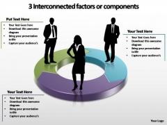 PowerPoint Backgrounds Success Interconnected Factors Ppt Design