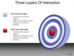 PowerPoint Backgrounds Success Three Layers Ppt Presentation