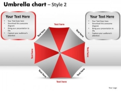 PowerPoint Backgrounds Success Umbrella Chart Ppt Themes